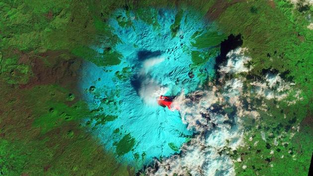 Fotos: Impresionantes imágenes del volcán Etna en erupción