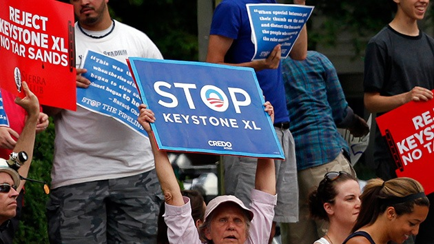 EE.UU. ve con buenos ojos el oleoducto Keystone XL que podría cambiar el clima
