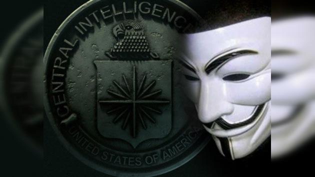 Anonymous vuelve a cargar contra  la CIA