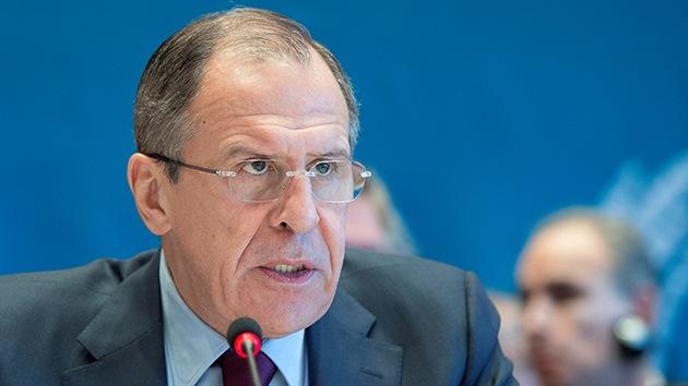 """Lavrov: """"No habrá conversaciones con los terroristas islámicos en Siria"""""""