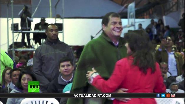 Un día con el presidente Rafael Correa