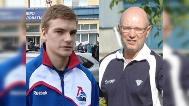 Los dos miembros del Lokomotiv que volvieron a nacer