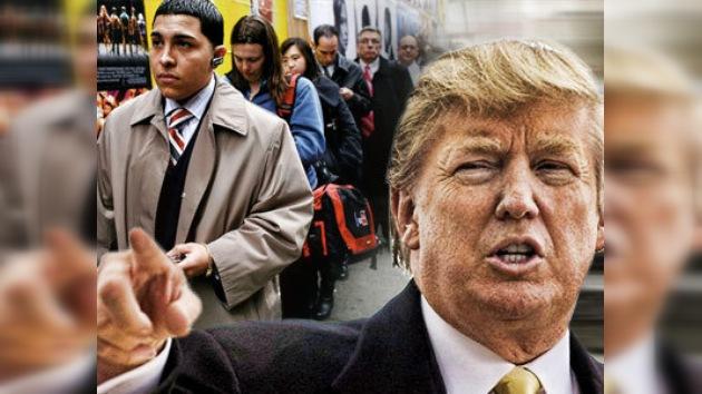 Donald Trump escogerá desempleados para su reality show