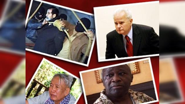 ¿Qué fue de los dictadores caídos?
