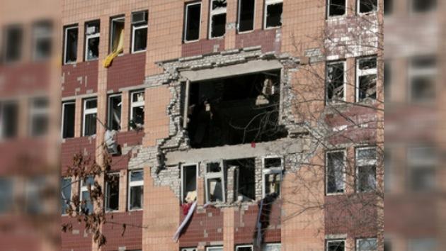 Duplicado el número de víctimas tras explosión en Lugansk