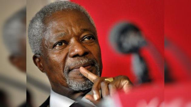 Rusia insta a apoyar los avances de la labor de Kofi Annan en Siria