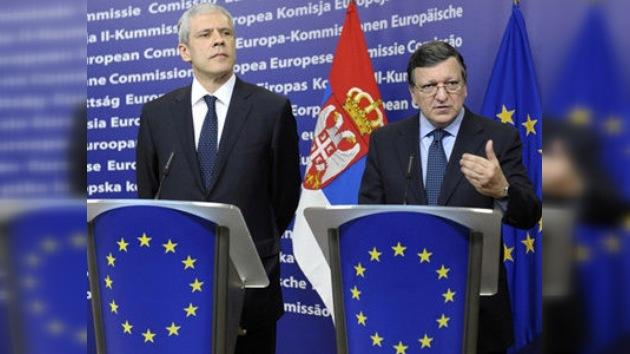 Serbia ya es candidata para entrar en la Unión Europea