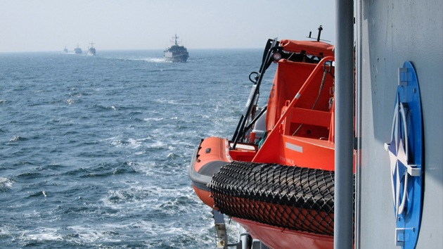 La OTAN estrecha el cerco: llega una nueva flotilla de buques al mar Báltico