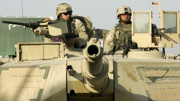 Efecto provocador: EE.UU. envía potente fuerza blindada a frontera báltica de la OTAN