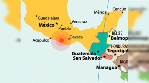 Un sismo de magnitud 7,4 sacude México