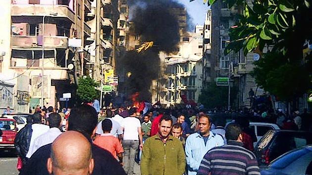 Video, Fotos: Fuertes enfrentamientos durante la 'protesta del millón' en Egipto