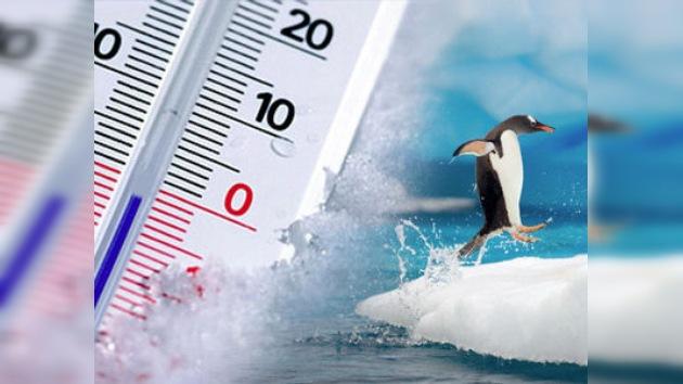 El Polo Sur marca un nuevo récord máximo de temperatura