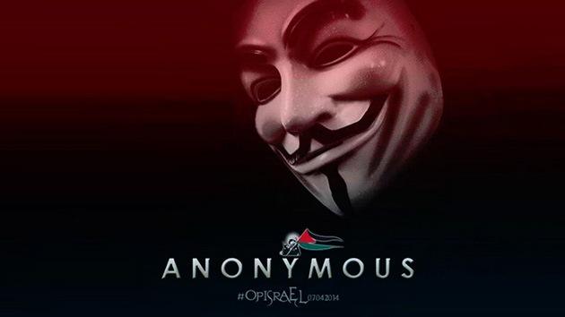 Anonymous ataca las páginas web del Gobierno israelí en solidaridad con Gaza