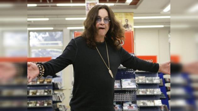 Los policias de tráfico rusos detuvieron el coche de Ozzy Osbourne