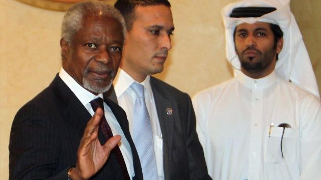 Annan advierte sobre la amenaza inminente de una guerra civil en Siria