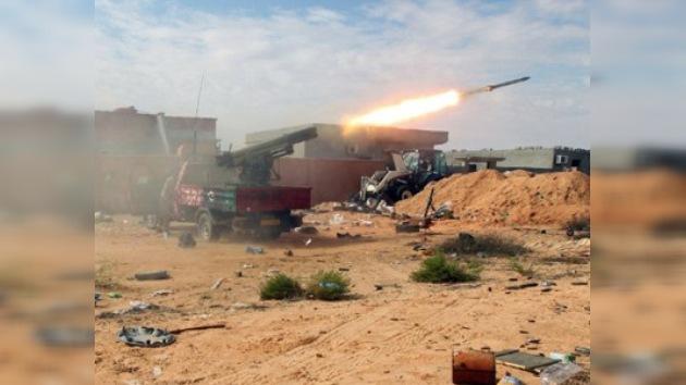 El CNT sigue asediando el centro de Sirte, la ciudad natal de Gaddafi