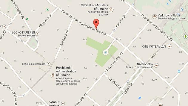 Google Maps cambia el nombre a una calle en Kiev, complaciendo a los radicales