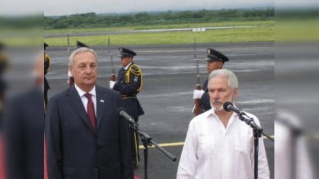 El presidente abjaso en Nicaragua