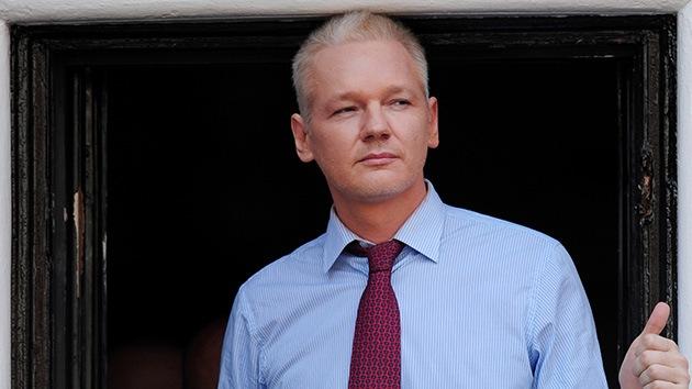 Assange se 'filtra' en la ONU