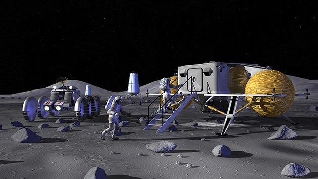 Un nuevo programa de la NASA pretende obtener agua en la Luna y oxígeno en Marte
