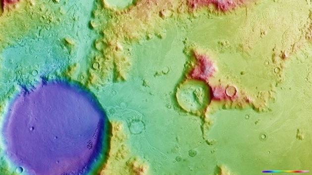 Fotos: 'Navidad' multicolor en Marte