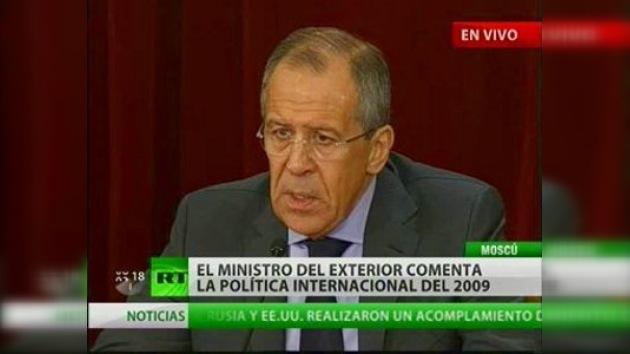 Serguéi Lavrov realizó el balance diplomático del pasado año