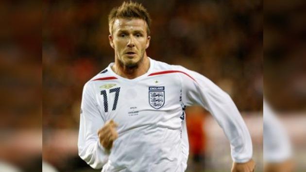 David Beckham se niega a la idea de un partido de despedida de su selección
