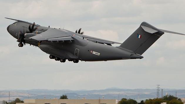 Fotos: Francia se equipa con el primer avión militar de transporte de nueva generación