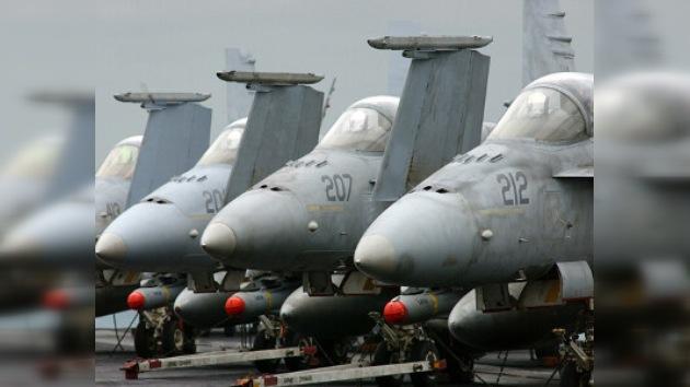 Suspenden los vuelos de 104 cazas F/A-18 por problemas técnicos en EE. UU.