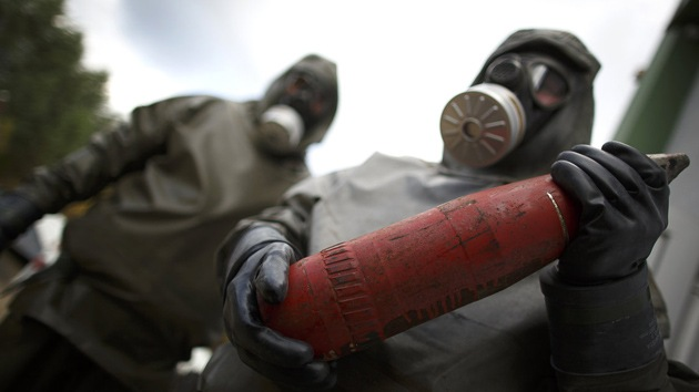 El futuro incierto de los agentes tóxicos de las armas químicas de Siria