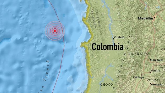 Colombia: Terremoto de 6,7 sacude la costa pacífica