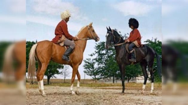 En Turkmenistán se celebra el 'Día del caballo' Akhal Teké