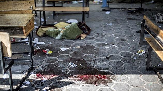 """Israel asegura que atacó una """"escuela vacía"""", ¿las víctimas se las inventa la ONU?"""