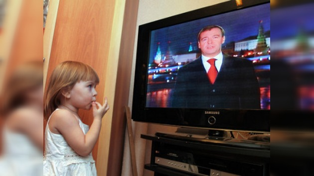 Rusia espera un saludo presidencial de fin de año