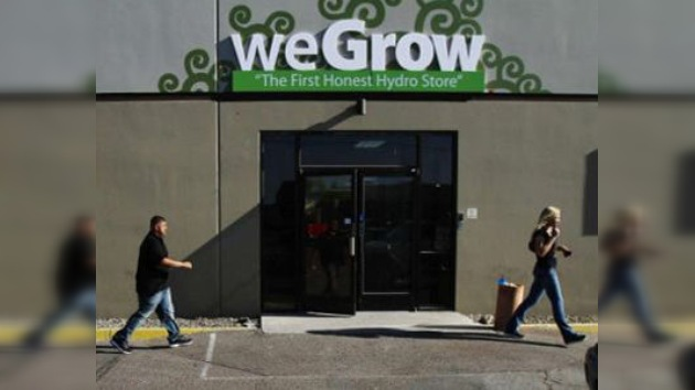 Abren una tienda de marihuana con fines médicos en Arizona