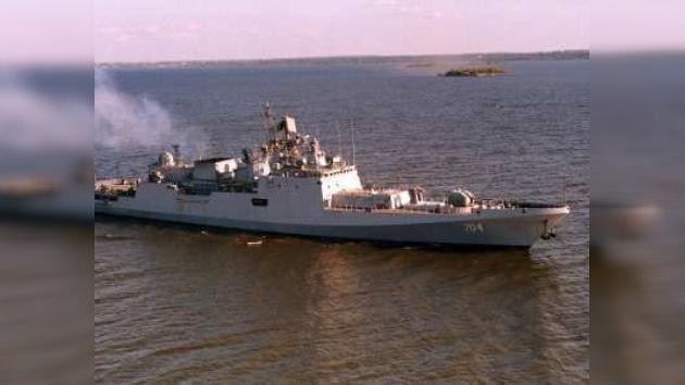 Rusia entregará tres fragatas a la India en el plazo previsto