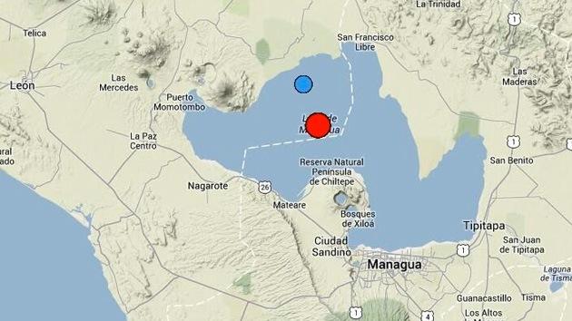 VIDEO: Alerta roja por un sismo de magnitud 6,2 que sacudió Nicaragua