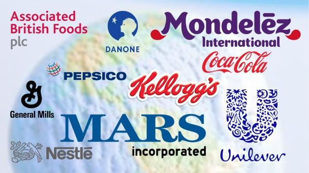 Las 10 corporaciones que dominan el mercado alimenticio mundial