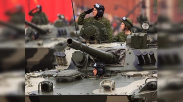 En Moscú se realizó el último ensayo del desfile del Día de la Victoria