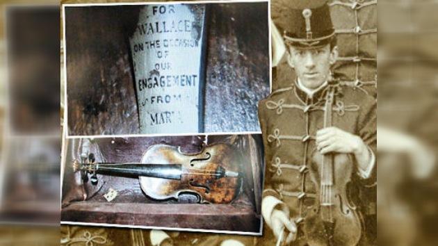 Podrían haber hallado el mítico violín del Titanic
