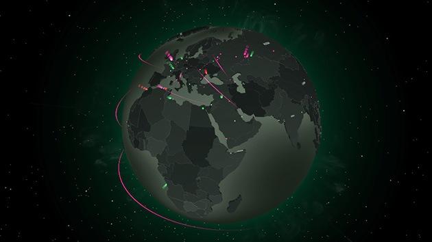 Kaspersky crea un mapa de ciberataques en tiempo real