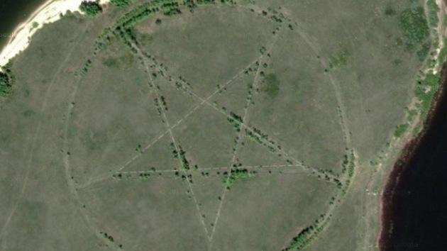 Resuelven el gran misterio del pentagrama de Google Maps