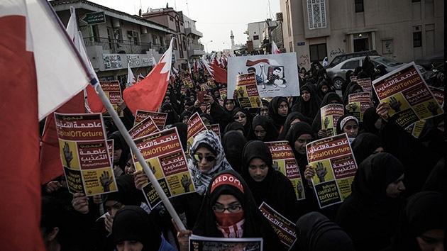 Miles de bahreiníes protestan contra las torturas en las cárceles