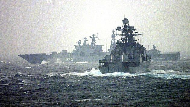 Rusia está dispuesta a escoltar a los barcos que trasladan las armas químicas de Siria