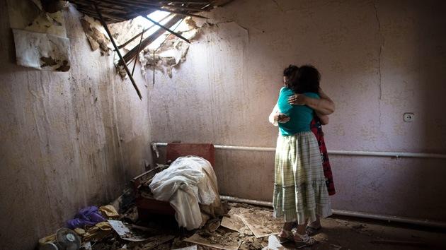 CNN muestra a EE.UU. los daños causados por las fuerzas de Kiev en Slaviansk