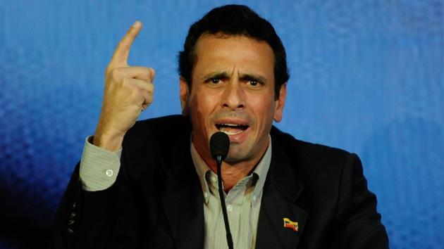 Henrique Capriles será candidato en las elecciones presidenciales de Venezuela