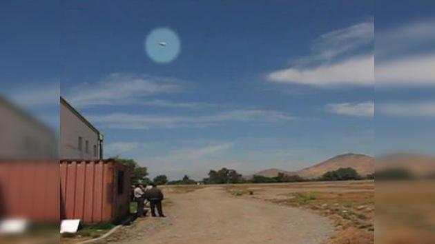 Chile: un ovni 'se cuela' en una demostración aérea a 10.000 km. por hora