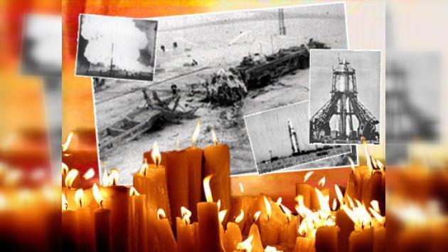 El Cosmódromo de Baikonur honra la memoria de los 126 fallecidos en 1960