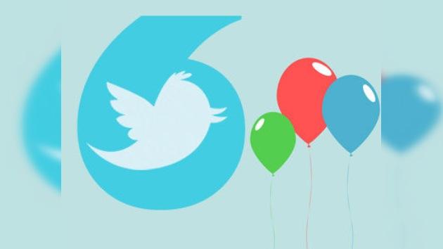 El tiempo vuela como un pajarito azul: Twitter cumple seis años