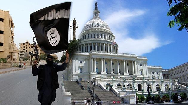 """""""Sois nuestros blancos"""": Tuits de la bandera del Estado Islámico ante la Casa Blanca"""